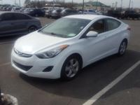 **CarFax One Owner** and Non Smoker. Elantra GLS and