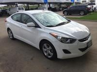 We are excited to offer this 2013 Hyundai Elantra. Your
