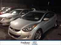 This 2013 Elantra GLS Is A One Owner, Certified, & Has