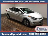 This 2013 Hyundai Elantra GLS is offered to you for