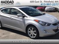 Elantra Limited. Gasoline! You'll NEVER pay too much at