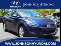 2013 Hyundai Elantra GLS, Clean CarFax, One Owner, and