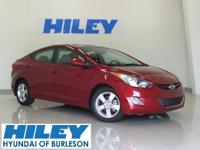 2013 Hyundai Elantra GLS Preferred Equipment Package