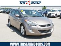 Don't miss out on this 2013 Hyundai Elantra GLS! It