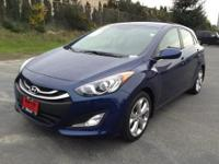 GREAT MILES 27,271! Elantra GT trim. EPA 37 MPG Hwy/27