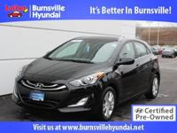 Hyundai Certified! CARFAX 1-Owner heated cloth seats