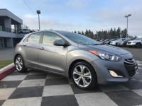 Gray 2013 Hyundai Elantra GT Limited w/ Technology Pkg.