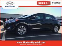 CARFAX One-Owner. Certified. Black 2013 Hyundai Elantra