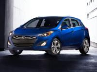 Certified. CARFAX One-Owner. 2013 Hyundai Elantra GT in
