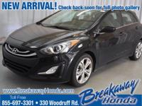 Creampuff! This handsome 2013 Hyundai Elantra GT is not