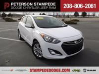Met our 2013 Hyundai Elantra GT, shown proudly in