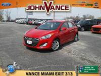 EPA 37 MPG Hwy/27 MPG City! Volcanic Red exterior and