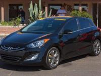 Options:  2013 Hyundai Elantra 4D Hatchback 6Spd|Black