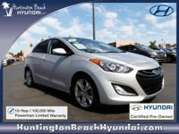 Low Miles! This 2013 Hyundai Elantra GT will sell fast
