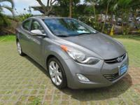 Gray 2013 Hyundai Elantra Limited FWD 6-Speed Automatic