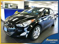 Just in on trade, this 1-Owner Elantra Limited has all