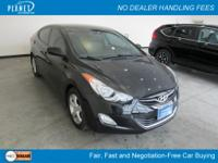 Black Diamond Hyundai Elantra LimitedClean Carfax, One