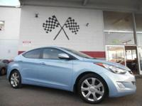 Options:  2013 Hyundai Elantra Limited 4Dr Sedan|Blue