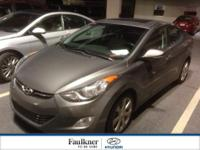 One Owner, Off Lease, & Certified, This 2013 Elantra