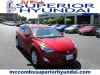 Safe and reliable, this Used 2013 Hyundai Elantra