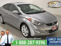 Recent Arrival!2013 Hyundai Elantra, Silver, Completely
