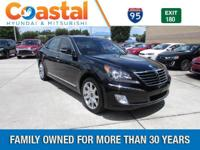 This 2013 Hyundai Equus Ultimate in features: RWD Clean