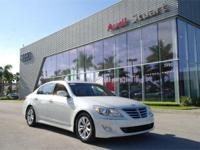 White Satin Pearl 2013 Hyundai Genesis 3.8 RWD 8-Speed