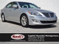 Climb inside the 2013 Hyundai Genesis! A sporty sedan