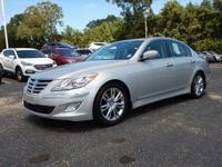 Silver Bullet! Nice car! This 2013 Genesis is for
