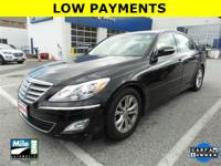 2013 HYUNDAI GENESIS SEDAN***ONE OWNER***CLEAN