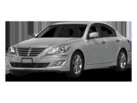 This 2013 Hyundai Genesis 3.8L is Well Equipped with