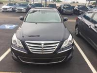 We are excited to offer this 2013 Hyundai Genesis.