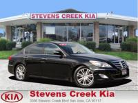 Options:  2013 Hyundai Genesis Genesis|Black|3.8L