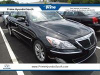 2013 Hyundai Genesis 3.8 RWD Black Noir Pearl Clean