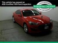 Hyundai Genesis Coupe Sports vehicle drivers, take a