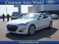 Don't miss out on this 2013 Hyundai Genesis Coupe 3.8