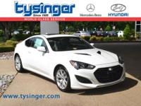 Monaco White Genesis Coupe 2.0T Premium RWD, Well