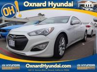 White Genesis Coupe 3.8 Grand Touring, 2D Coupe, 3.8 L