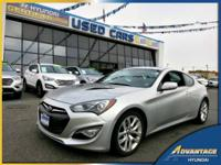 This low mileage, 1-Owner Hyundai Genesis Coupe just