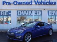 Check out this gently-used 2013 Hyundai Genesis Coupe