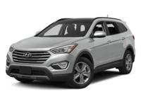 2013 Hyundai Santa Fe GLS In Circuit Silver. AWD and