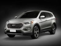 2013 Santa Fe Limited CARFAX One-Owner. Gray w/Leather