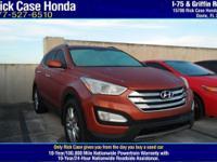 Options:  2013 Hyundai Santa Fe 2.0T Sport W/Saddle