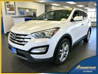 This 1-Owner Hyundai Santa Fe just came in off lease!
