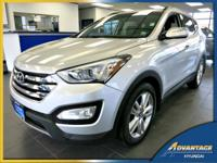 Well appointed, this 1-Owner Hyundai Santa Fe Sport