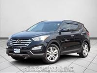 2013 Hyundai Santa Fe Black Sport 2.0T AWD 6-Speed