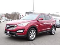 New Price! 2013 Hyundai Santa Fe Sport 2.0T Red CARFAX