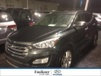 Clean, AWD, 2013 Santa Fe Sport Turbo In The Highly