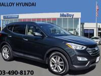 Santa Fe Sport 2.0T and AWD. Turbo! Gasoline! This 2013