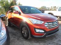 CARFAX One-Owner. Canyon Copper 2013 Hyundai Santa Fe